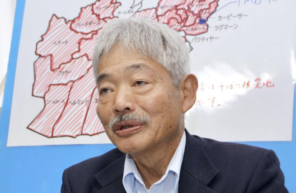 Afganistanis suri rünnaku tagajärjel kogu elu sealseid inimesi aidanud Jaapani arst