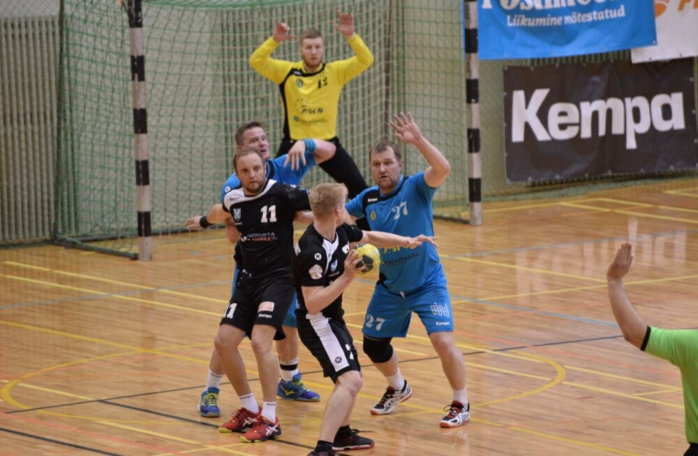 Käsipall Viljandi HC ja Viimsi/Tööriistamarket