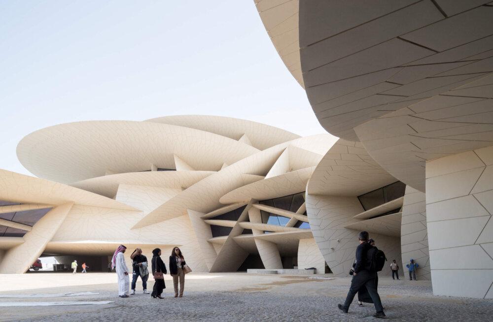 Роза пустыни: в Катаре построили уникальное здание Национального музея