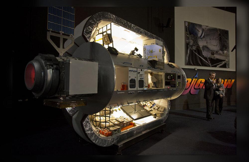 VAATA: Niimoodi paigaldatakse kosmosejaamale täispuhutav moodul