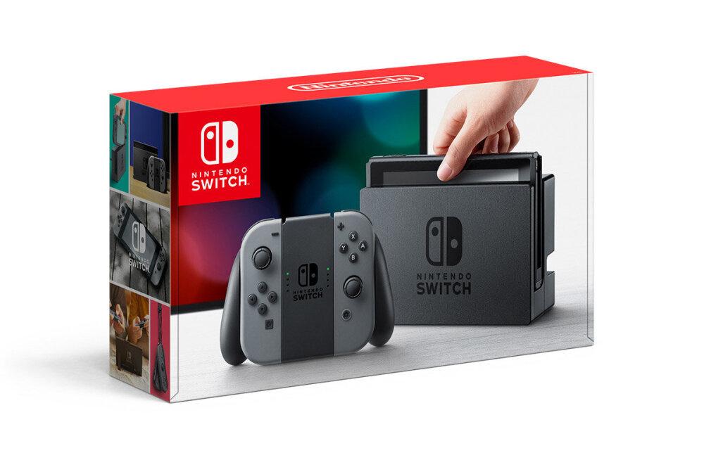 Nintendo uus mänguseade Switch: kõik, mida pead teadma!