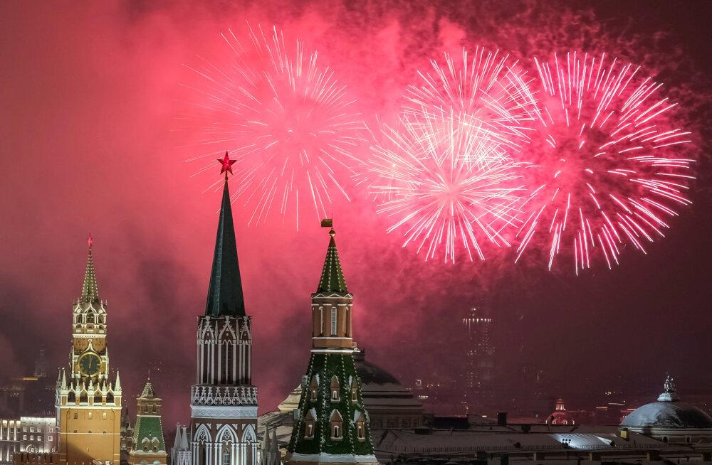 В Москве в честь 75-летия освобождения Таллинна прогремит салют
