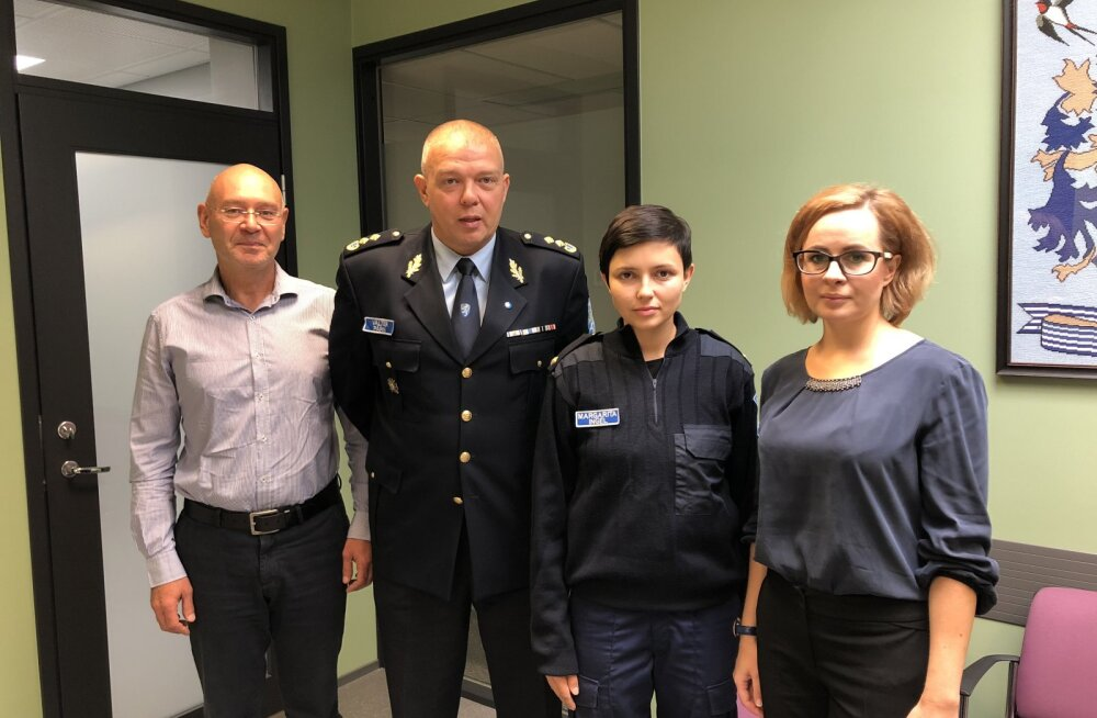 Управа Ласнамяэ обсудила на встрече с полицией безопасность района