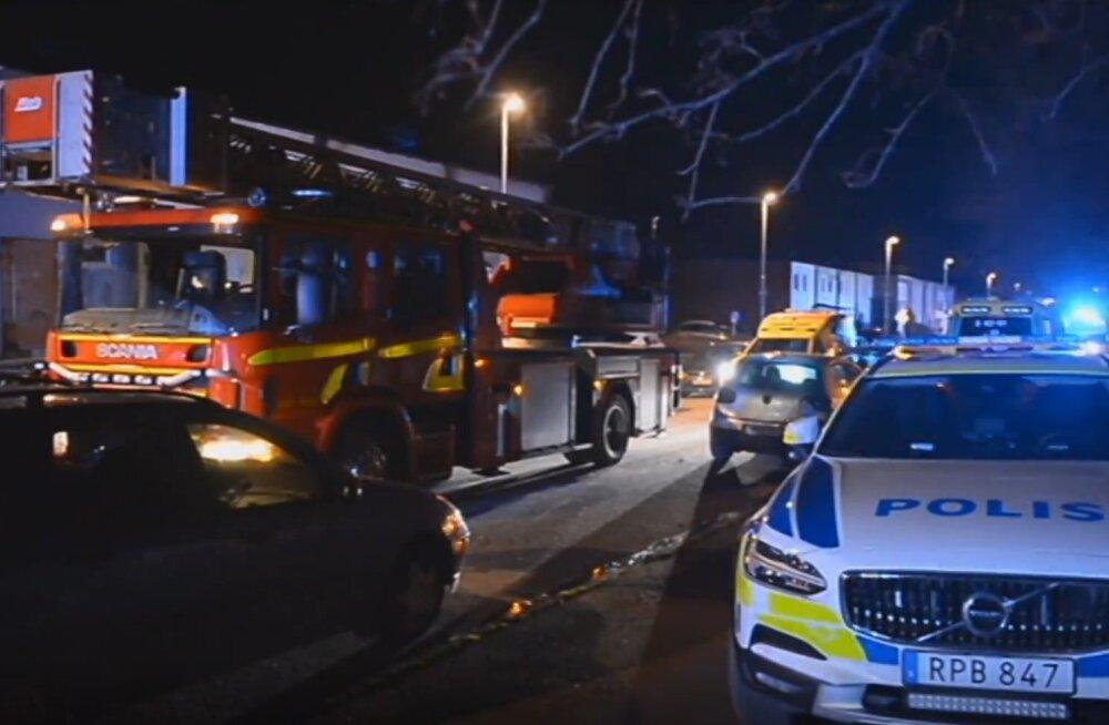 Rootsis Norrköpingis toimus tugev plahvatus elumajas