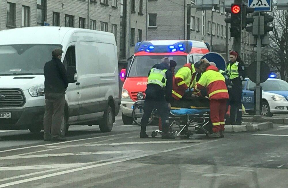 Liiklusõnnetus Pärnus