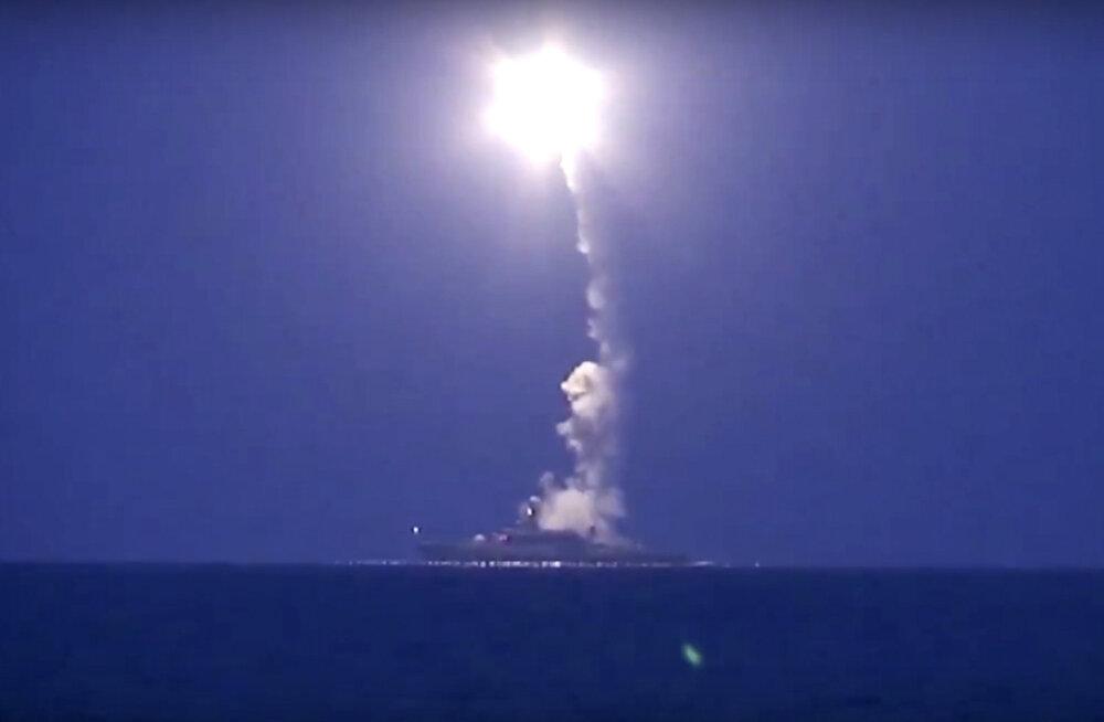 Värise maailm! Vene tiibrakett Kalibr tapab ka 1200 kilomeetri tagant