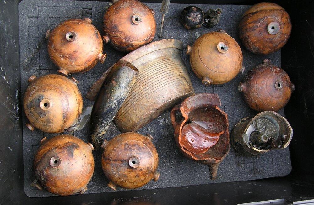 Tallinna lahest leitud savinõud