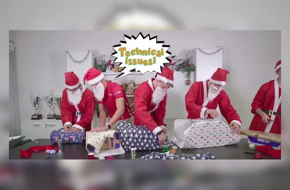 VIDEO | Lõbus jõuluväljakutse pani proovile Ralf Aroni, Mick Schumacheri ja teised Prema vormelipiloodid
