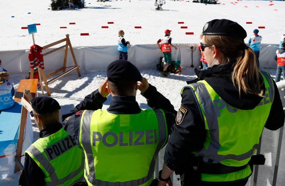 Austrias hoiab politsei sportlastel silma peal.