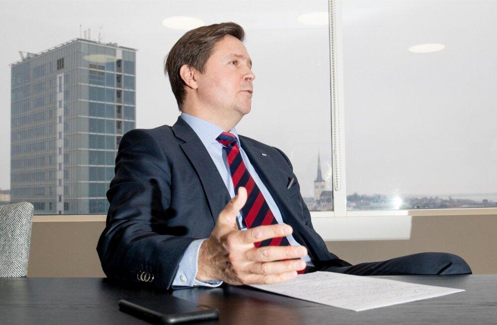Allan Parik rõhutab, et kõige parem kaitse rahapesu vastu on õigete klientide valimine.