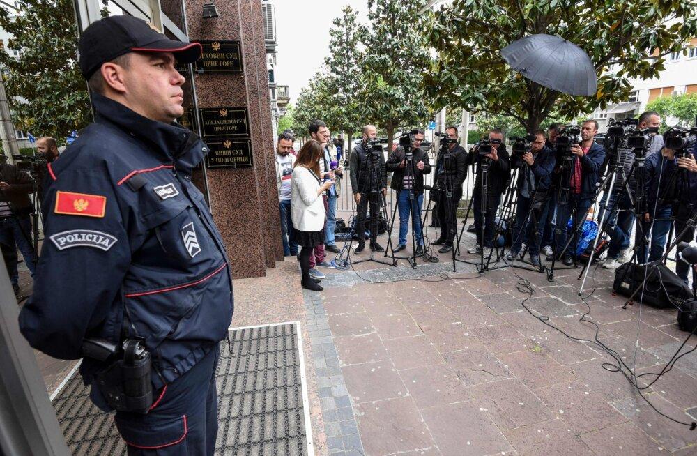 Montenegro kohus mõistis 14 inimest süüdi Vene-meelses putšikatses, teiste seas kaks GRU ohvitseri