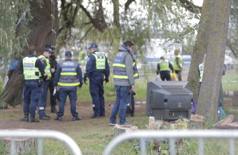 Politsei remmelga mahavõtmisest: pidime sekkuma, kuna läbirääkimistest polnud kasu