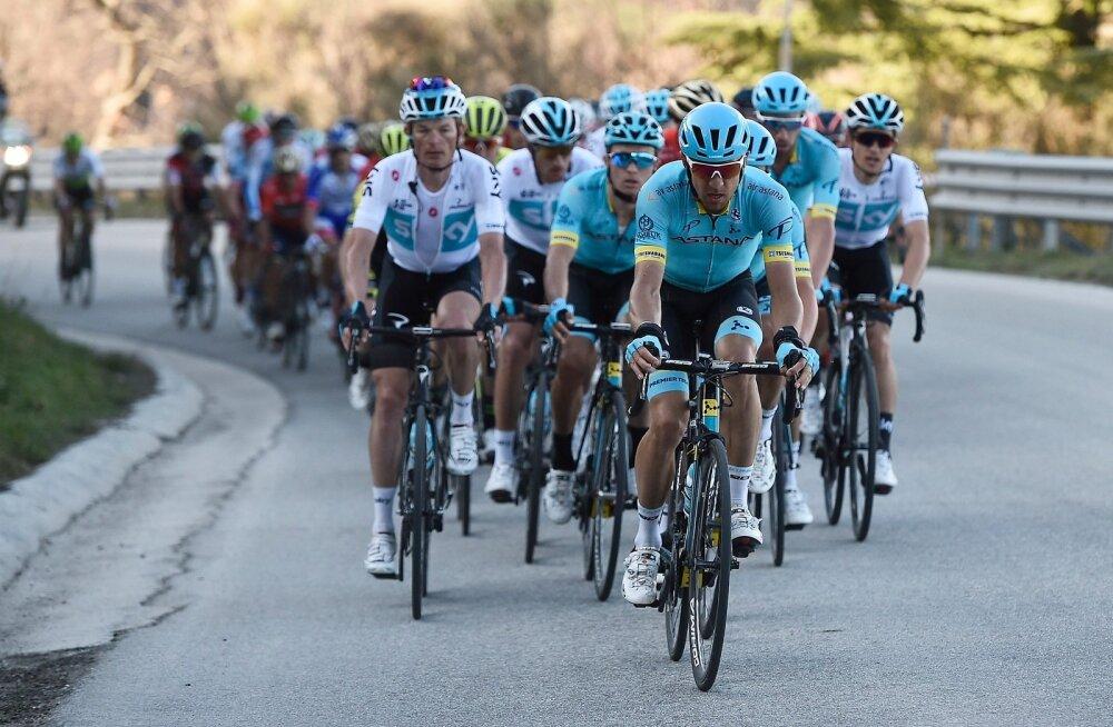 Tanel Kangert Tirreno-Adriatico velotuuril tempomeistri rollis