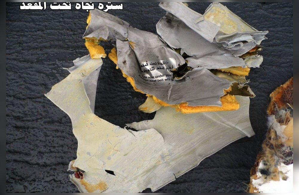 ФОТО: Опубликованы снимки обломков самолета EgyptAir