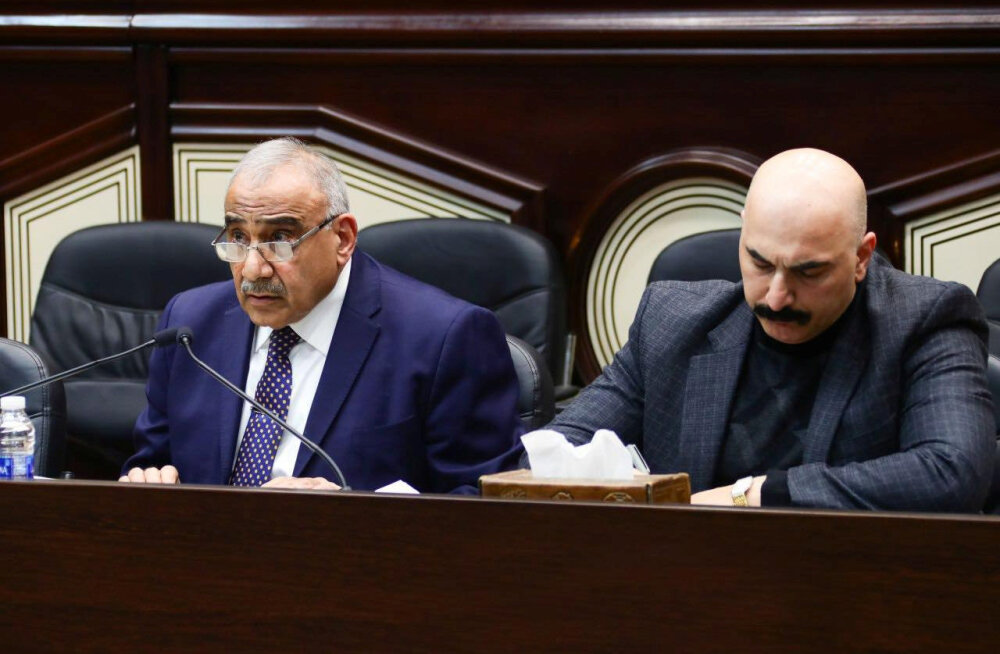 Iraagi peaminister: kindral Soleimani tuli Iraaki, et arutada pingelõdvendust Saudi Araabiaga