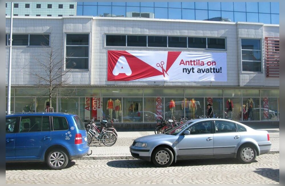 Anttilale terendab Soomes pankrot