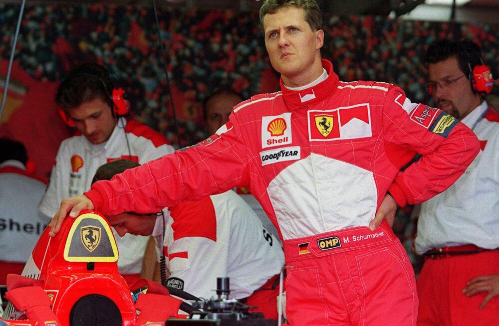 Endine F1 tiimiboss nimetas põhjuse, miks ei saa Schumacherit pidada läbi aegade parimaks sõitjaks