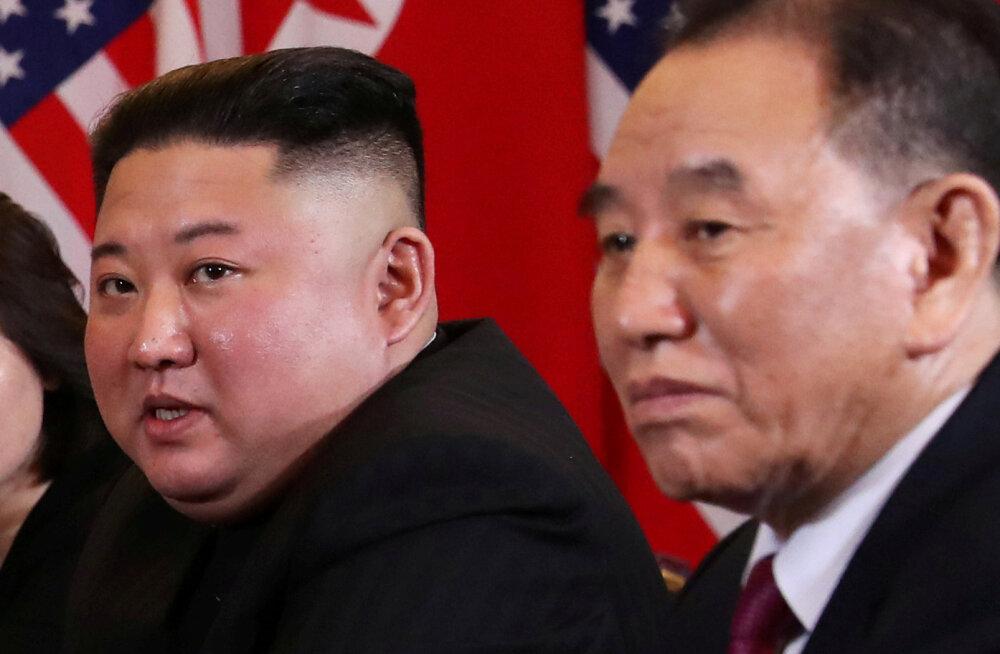 Kim Jong-un ja Kim Yong-chol