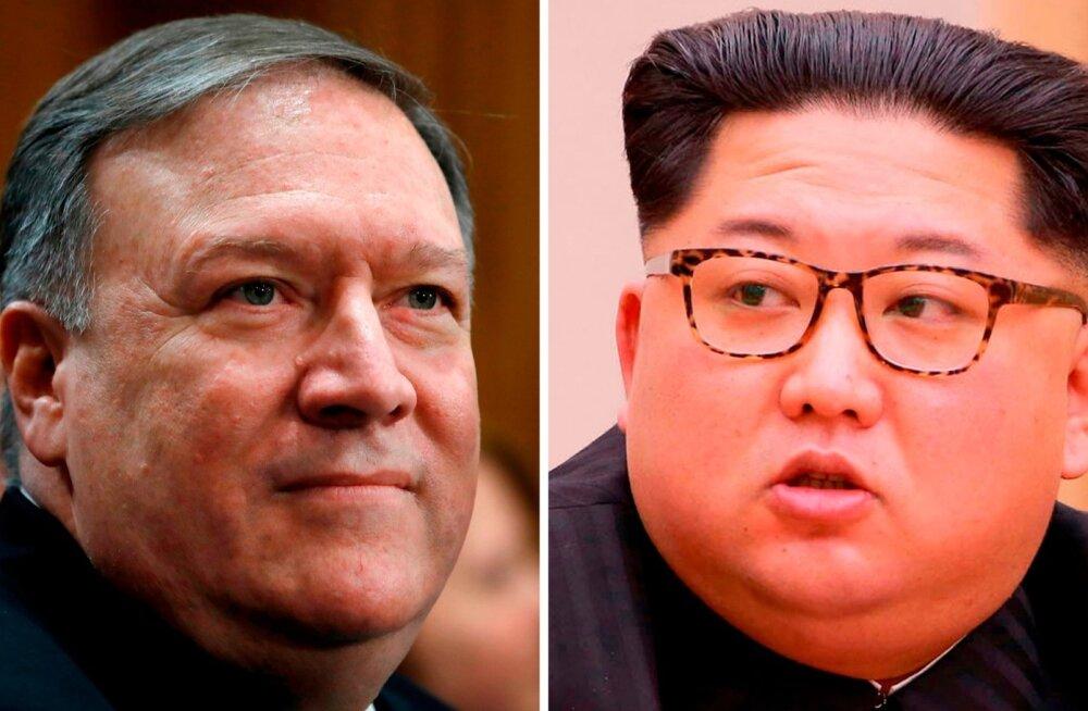 WP: CIA direktor Pompeo käis hiljuti Põhja-Koreas Kim Jong-uniga kohtumas