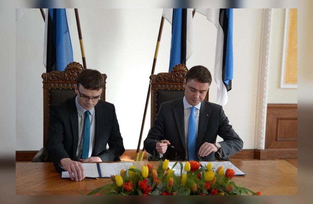 DELFI FOTOD ja VIDEO: Vaata, mida uus valitsusliit enda koalitsioonilepingus lubab