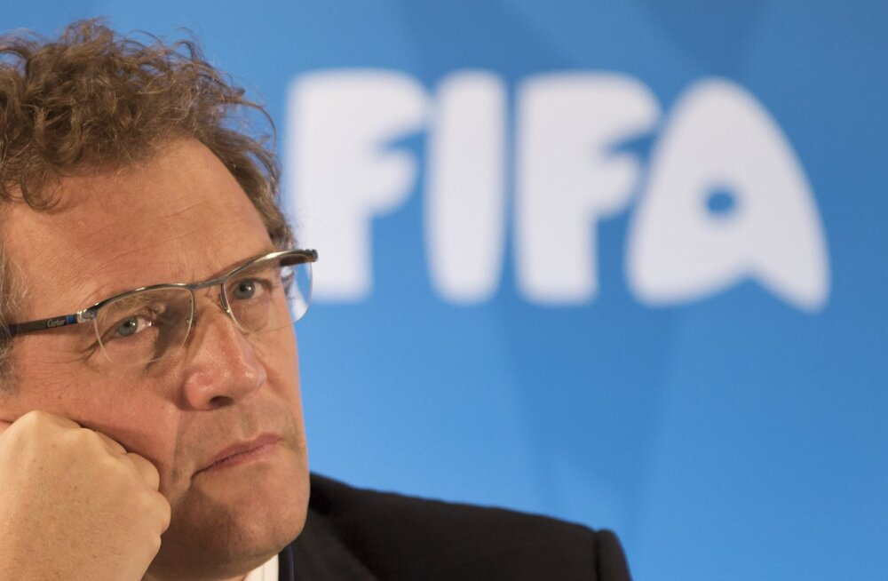 FIFA vallandas peasekretär Jerome Valcke
