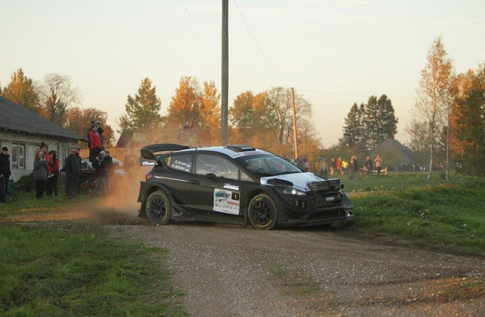 Georg Gross teeb WRC-masinaga EMV teisel etapil hooaja avastardi