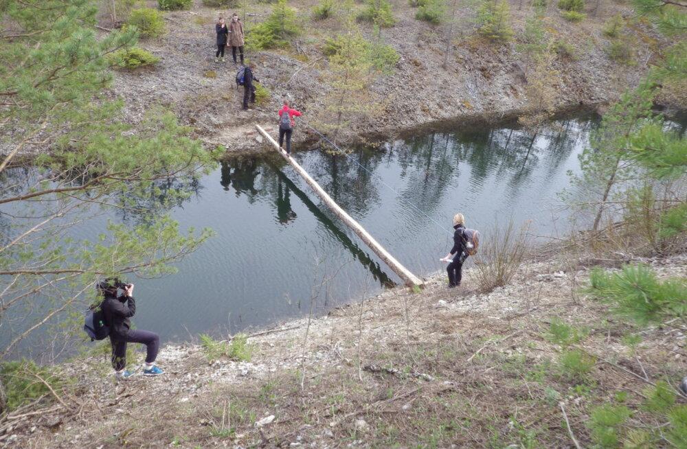Eesti ägedaimad seiklused nii maa alt, mäe otsast, vee pealt kui ka puude latvadest