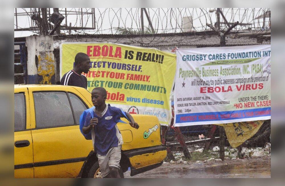 Ebolahaiglat rüüstanud rahvamass viis surmahaiguse koju kaasa