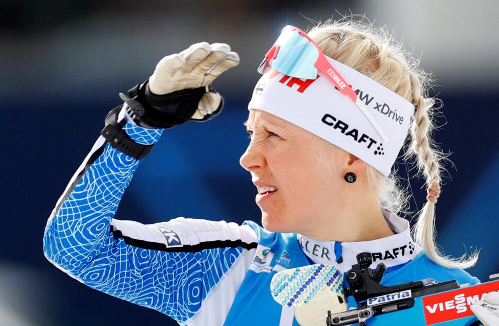 Kaisa Mäkäräinen avaldas, et oleks ühel tingimusel karjääri jätkanud