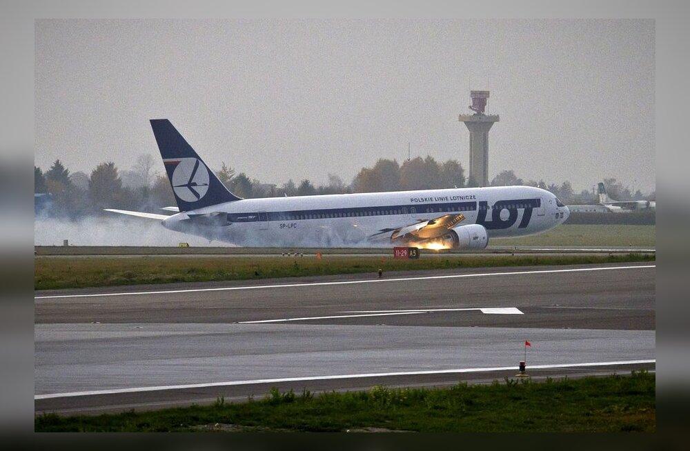 Hädamaandunud lennukis olnud soomlane: piloot päästis meie kõigi elu