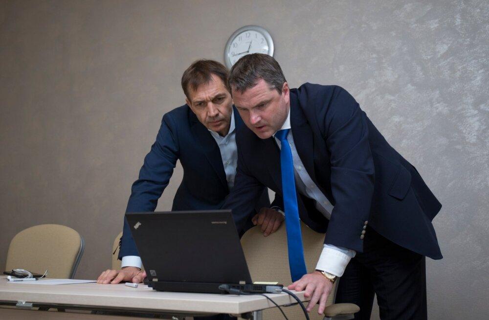 EOK president Urmas Sõõrumaa ja peasekretär Siim Sukles