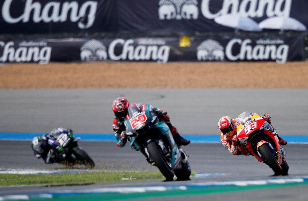 MotoGP leidis lahenduse, kuidas kõik sõidud koroonaviirusest hoolimata ära pidada