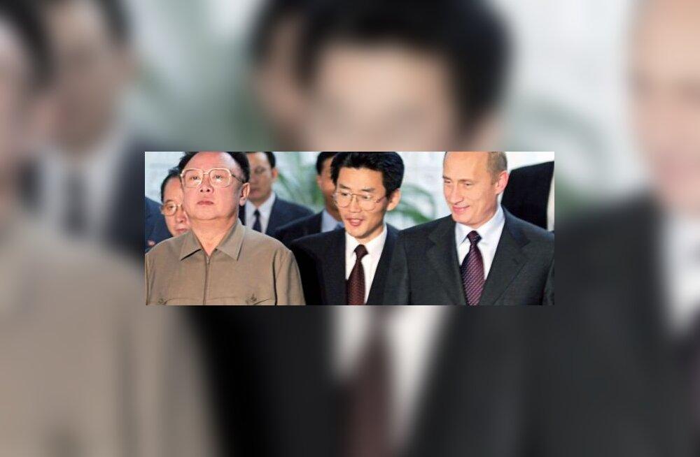 Rõõmus Putin soovib tugevdada P-Koreaga suhteid