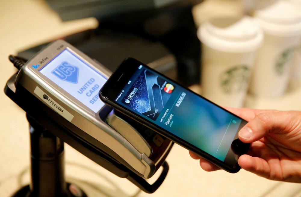 Juba üks 20-st: Apple Pay viipemakse kiire tõus ja tõus
