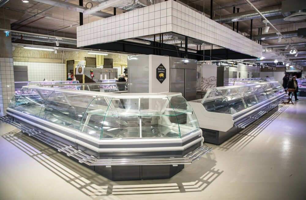 Balti jaama turu lihalett on silmahakkavalt lage.
