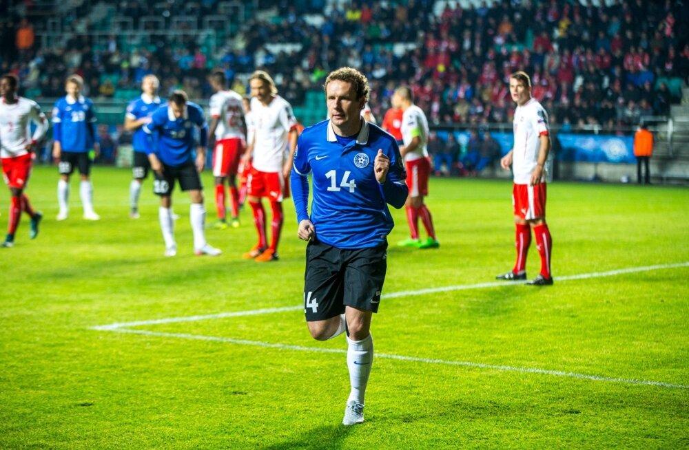 Kui Kostja skoorib, läheb Eestil hästi. Sel aastal pole Kostja koondises skoorinud.