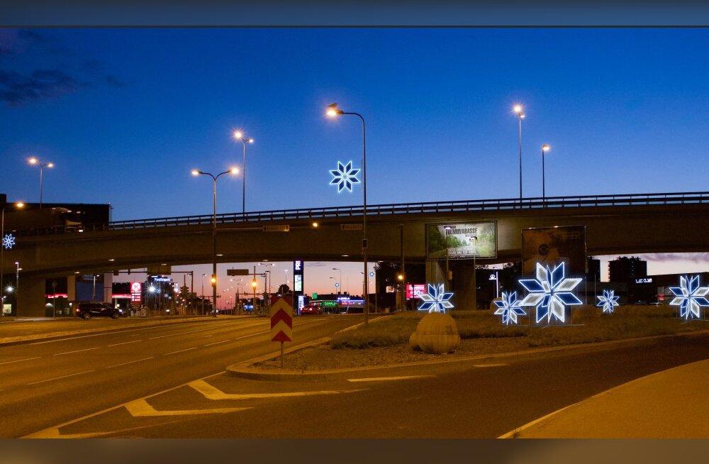 ФОТО | С помощью световых решений Таллинн превратится в сказку