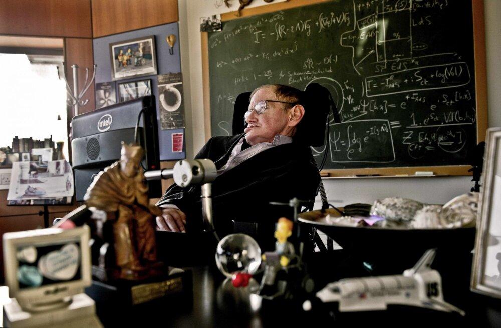 Laurits Leedjärv: Stephen Hawkingi panust teadusse jäävad sümboliseerima mustad augud ja singulaarsus