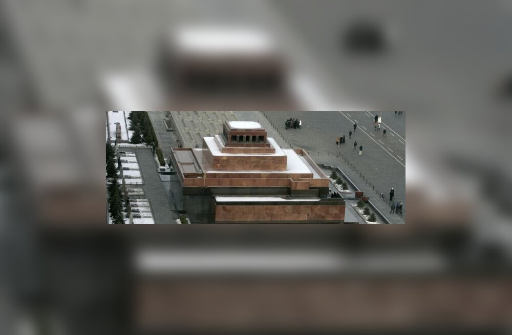 Moskva kuulus Lenini mausoleum suletakse