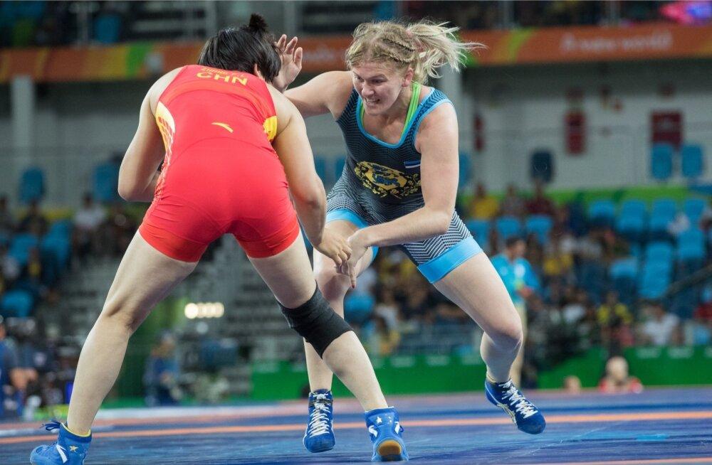 Epp Mäel (paremal) ei õnnestunud seekord MM-il medalit võita.