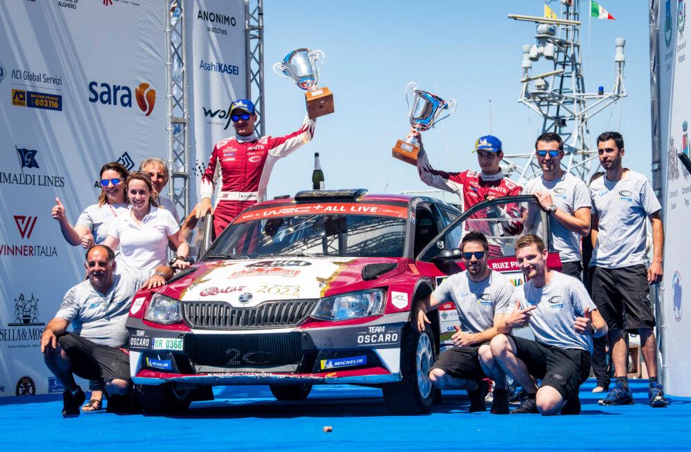 Loebi ja Ogier' noor mantlipärija tuleb Eestisse WRC-autoga sõitma