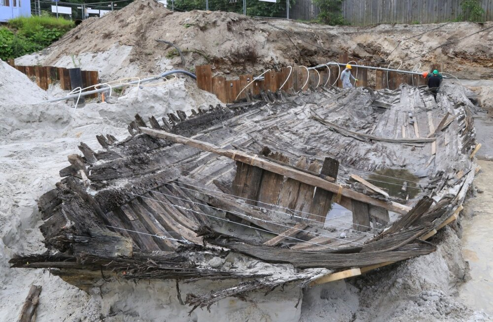 Koge väljakaevamised Kadriorus 2015. aasta suvel.