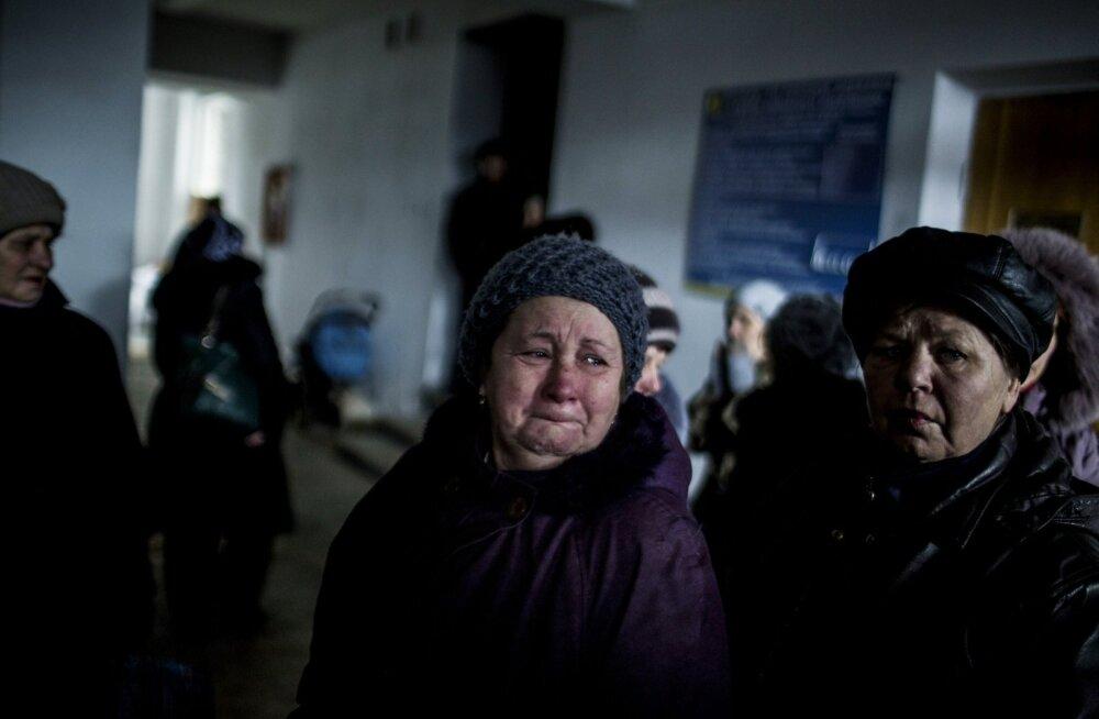 Amnesty: tsiviilisikute olukord pideva tule all olevas Debaltseves on katastroofiline
