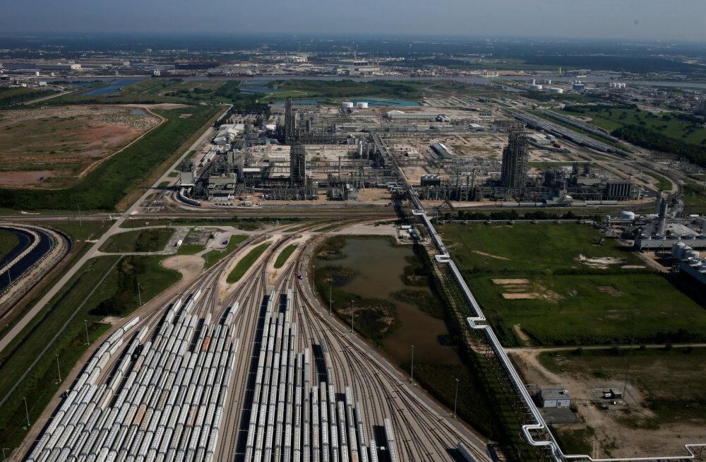 Orkaan Harvey muutis maailma ühe tähtsaima kemikaali harulduseks