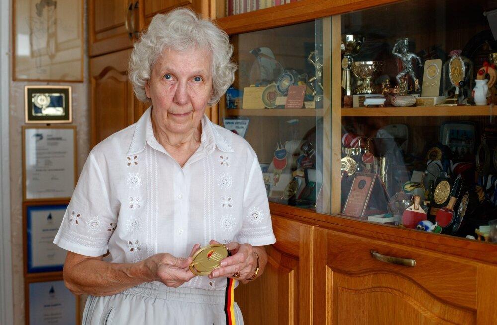 Vanus on vaid number! 74-aastane Mare Kabrits läheb veel uhkes eas Euroopa meistrivõistlustele