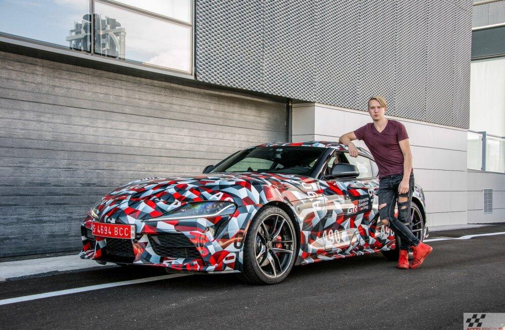 Toyota Supra: legendi uus tulemine. Võimalik, et juba Pariisi autonäitusel