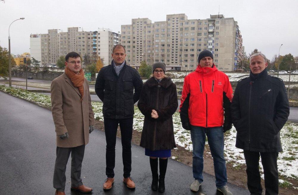 В Ласнамяэ закончен восстановительный ремонт улиц Лумму и Лойтсу