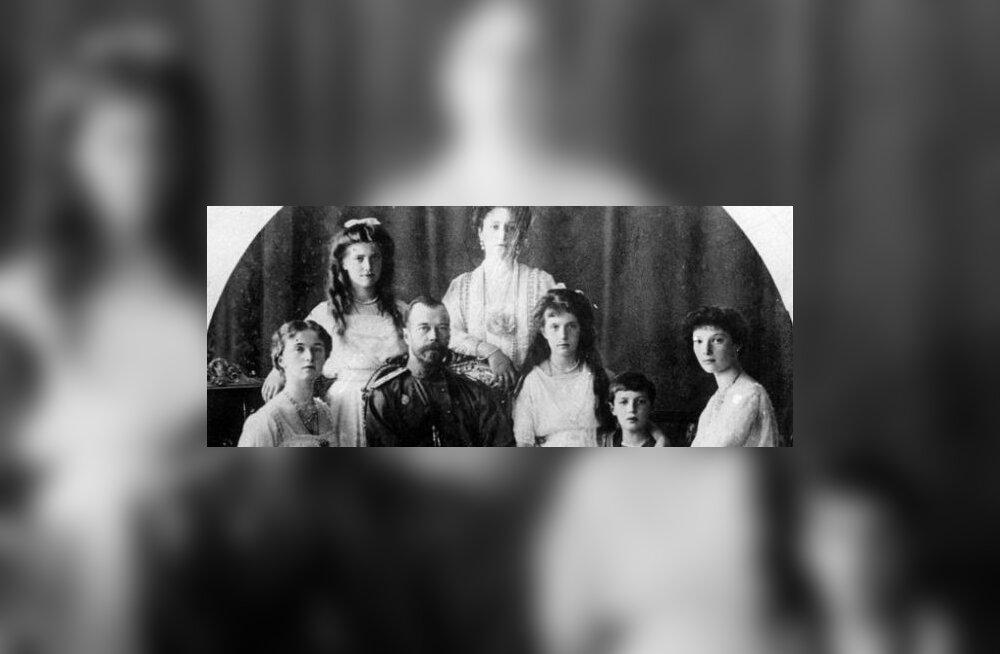 Bolševikud tapsid kogu Romanovite perekonna