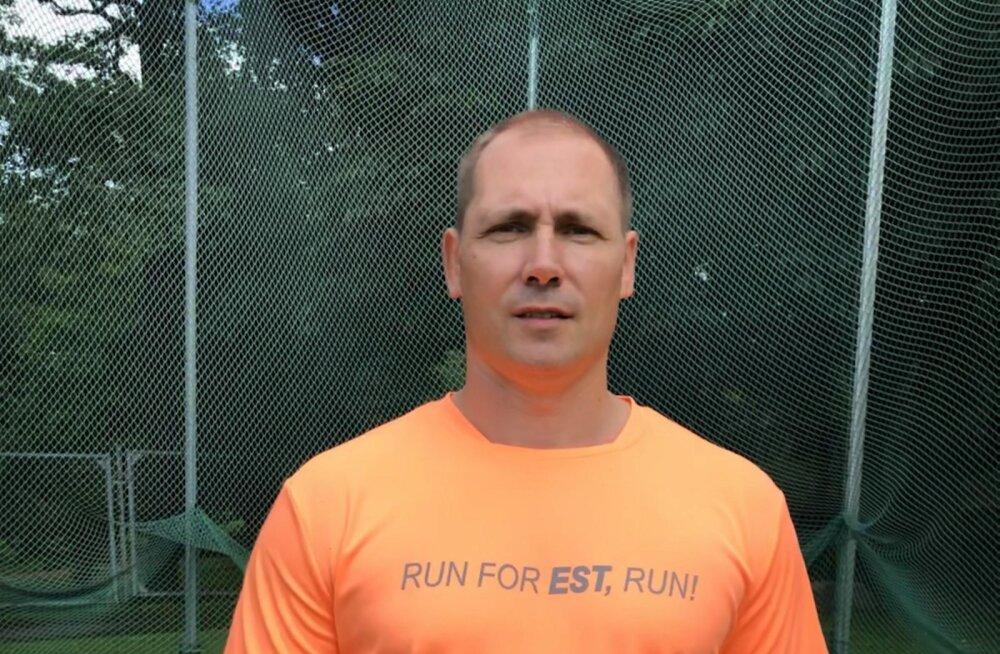 Gerd Kanter kavatseb septembris maratoni läbida