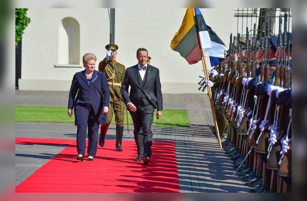 President Ilves Leedus riigivisiidil